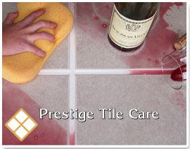 sealed tile and grout